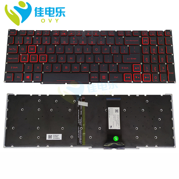 Фото - OVY US Replacement keyboards for Acer Nitro 5 AN515-54 71FT 7496 77Y5 AN515-54-78P1 English black light backlit keyboard sale original new laptop lcd back cover front bezel hinges for acer predator nitro 5 an515 42 an515 41 an515 51 an515 53
