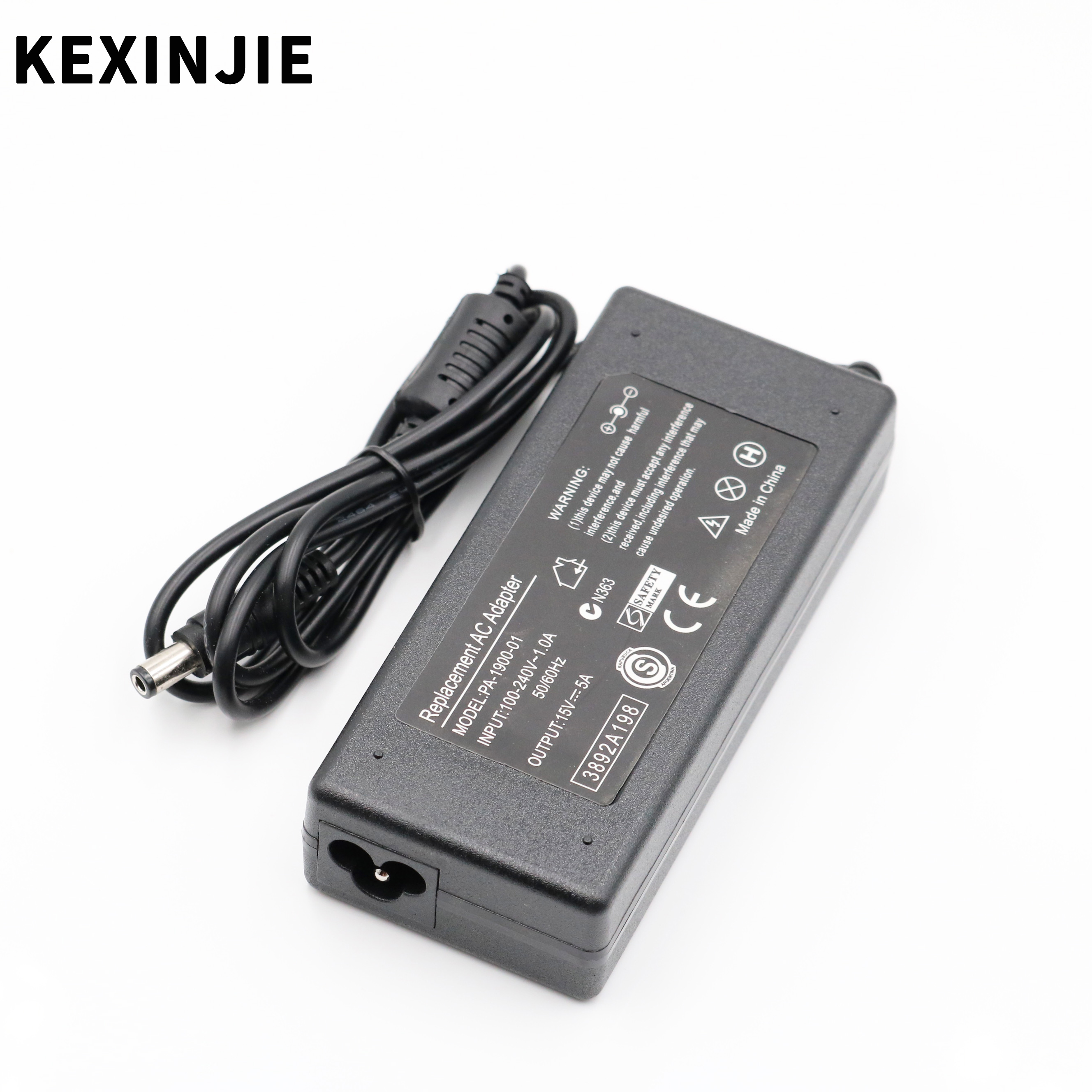 15V 5A 75W Ac Power Supply Adapter Battery Charger For Toshiba Portege R502 R505 R600 R501 Tecra A11 M11 S11