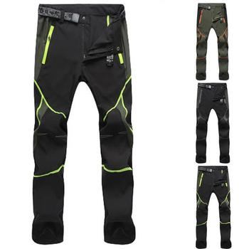 Men's Pants Quick Drying Outdoor Color Stitching Mountain Climbing Pantalones Men Clothing Windproof Trousers Pants for Men