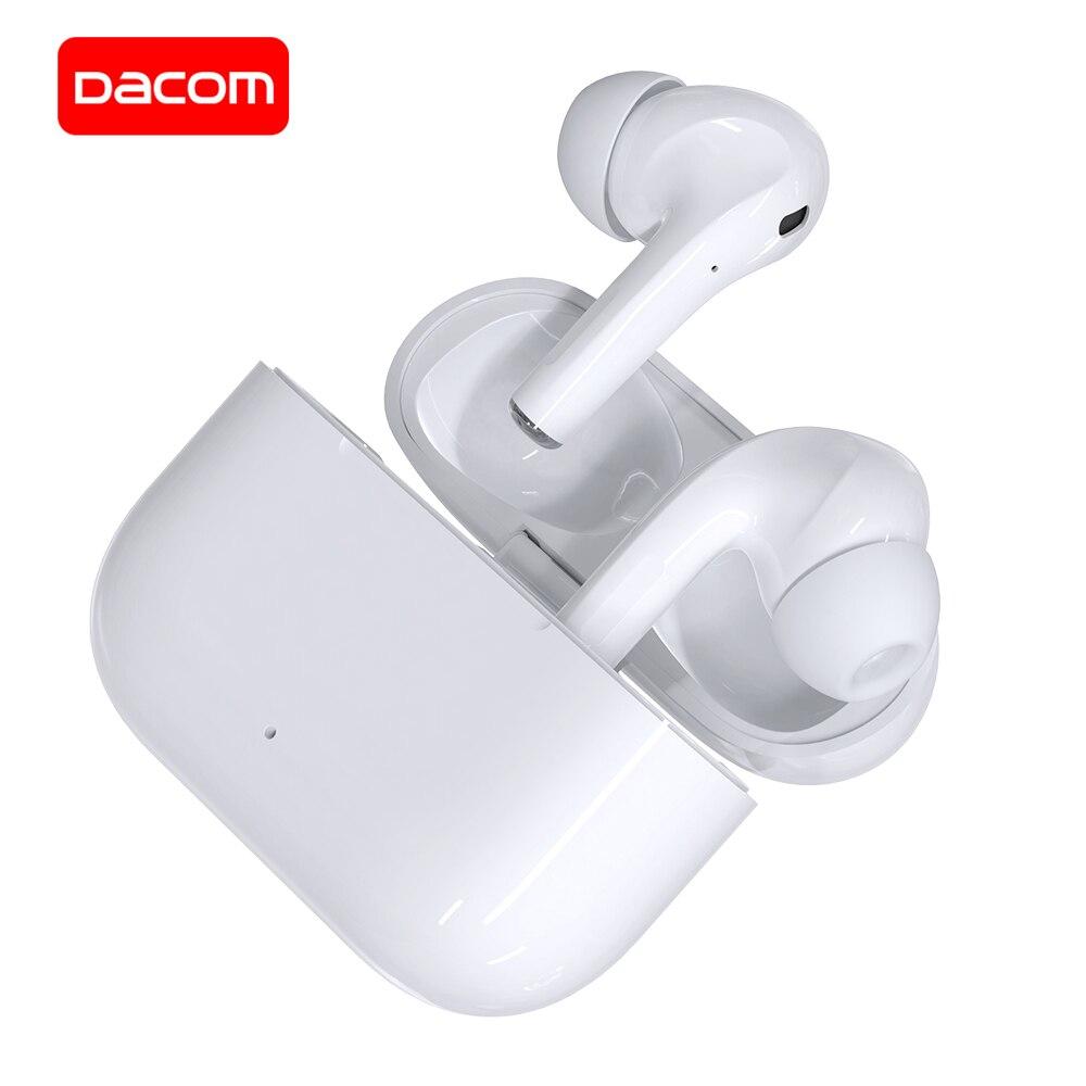 DACOM GF3 Bluetooth наушники TWS True беспроводные стерео наушники Поддержка Rename GPS Сенсорное управление для iPhone Samsung Xiaomi Huawei