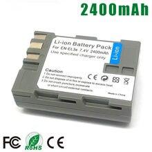 Pack de batterie EN-EL3E pour Nikon, pour modèles ENEL3E EN EL3E EL3a EN-EL3a D90 D80 D300 D300s D700 D200 D70 D50 D70s D100 D-100 D-300 D-70 D-90