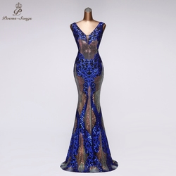 Женское вечернее платье-русалка, элегантное сексуальное платье для выпускного вечера