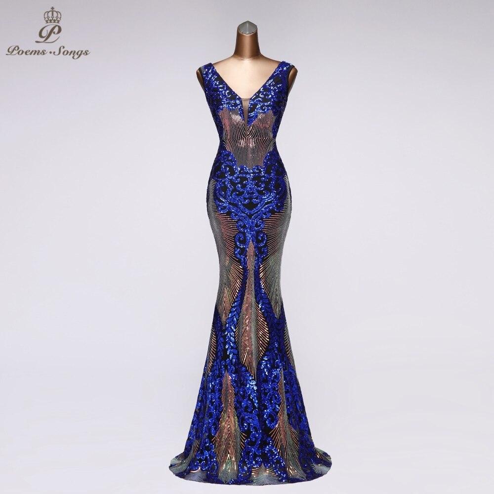 Sexy Elegant Party Dress Mermaid Evening Dress Prom Dresses Robe De Soiree Vestidos De Festa Sukienki Wieczorowe
