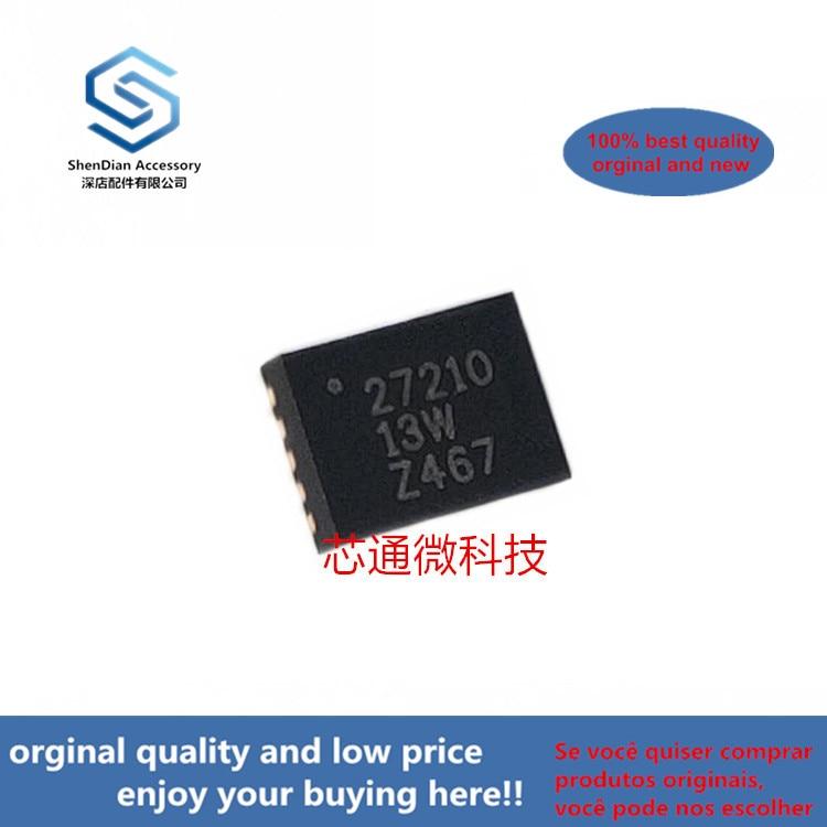 10pcs 100% Orginal New Best Qualtiy BQ27210DRKR BQ27210 Silk-screen 27210 QFN-10 Li-Ion AND Li-Pol BATTERY   ( Can Work Perfect)