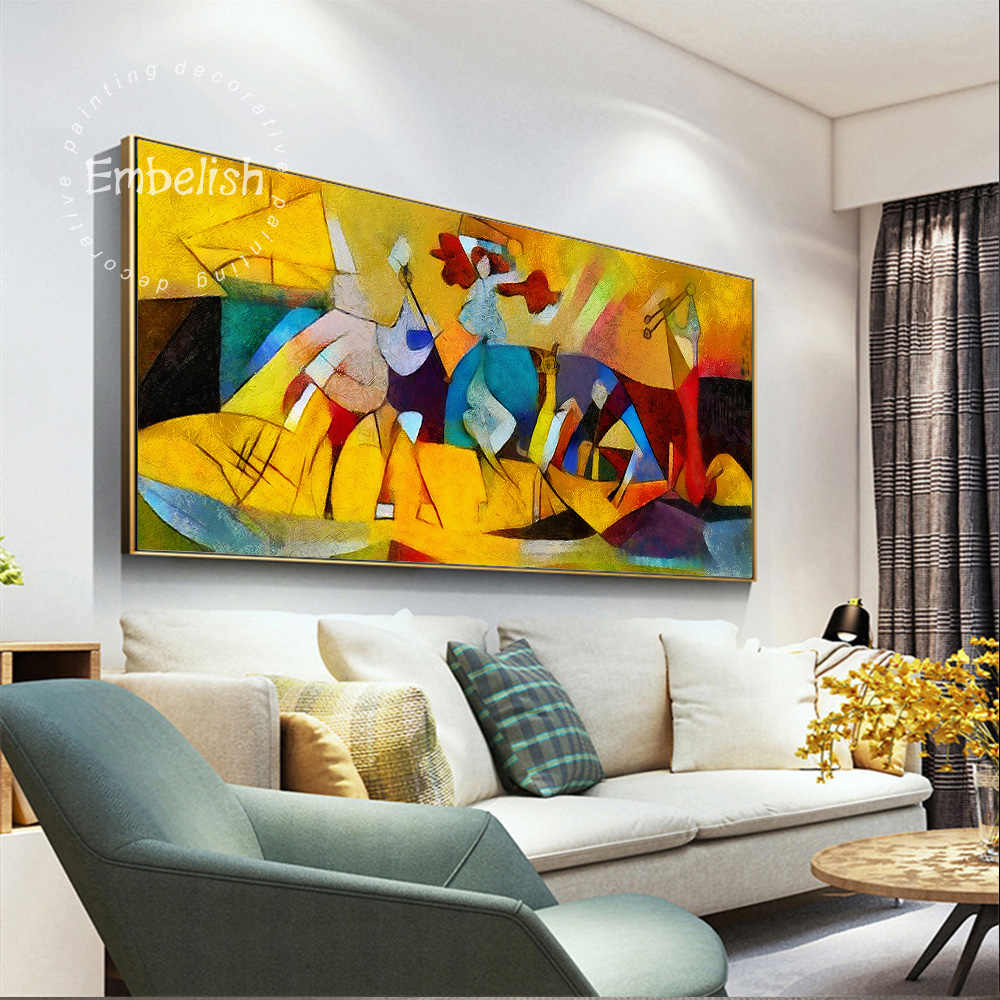 Pieces Abstract Wall Art Pictures