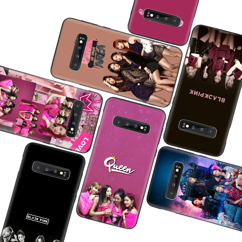BLACKPINK <font><b>kpop</b></font> Black Phone Case for <font><b>Samsung</b></font> Galaxy S20 Ultra S10E Note 10 9 8 S9 S8 J4 <font><b>J6</b></font> J8 + <font><b>Plus</b></font> Lite S7 S6 <font><b>Coque</b></font> Cover image