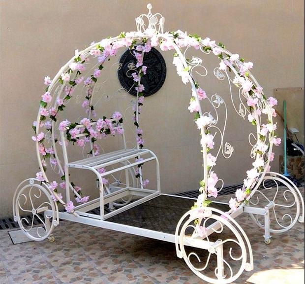 New Tieyi Pumpkin Car Bride Wedding Projects Princess