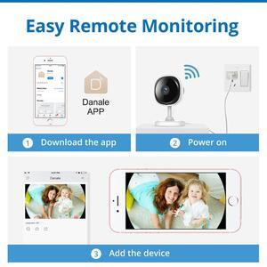 Image 4 - SANNCE 180 degree Wi fi IP Camera HD 1080P Wireless Home Security Camara IR Night Vision Baby Monitor Wifi Mini Network Camara