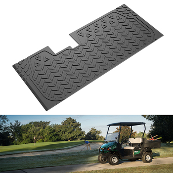 for Club Car DS / XRT Golf Carts KEMIMOTO Custom Fit Mat Protective Rubber Floor Mat 2004 - 2017 2005 2006 2007 2008 2009