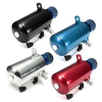 0 5L czarny niebieski srebrny czerwony zbiornik do pobierania oleju może zbiornik odpowietrzający niebieski filtr aluminiowy silnik wyścigowy AN6 tanie i dobre opinie Autoleader Zbiorniki paliwa 0 43kg 7 6cm 20 38cm Aluminium alloy