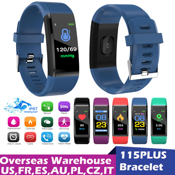 Fitness Tracker Sports Smart Watch With Blood Pressure Heart Rate Bracelet Screen Electronics