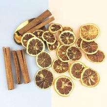 Sobre 9g de flor seca natural limão fatia canela frutas secas com cobertura de vidro de frutas flor eterna diy