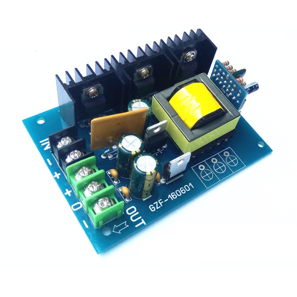 Taidacent 12V/24V To ±15V ±18V DC-Double DC Output 12 Volt DC Transformer Power Supply DC Transformer Circuit Board