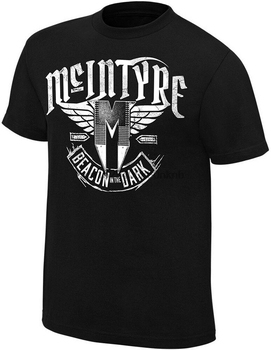 DREW MCINTYRE beacon in the dark OFFICIAL AUTHENTIC T-SHIRT