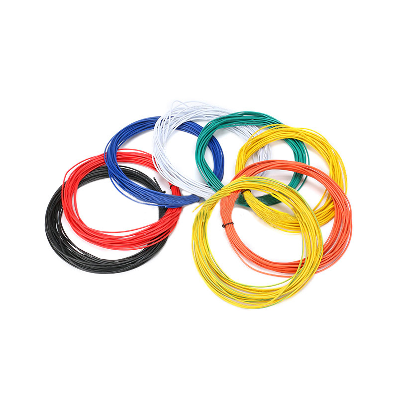 10M UL-1007 24AWG Hook-up Wire 80C / 300V Cord DIY Electrical Wire Cable Red/Black/Blue/Yellow/green/white/Orange/purple