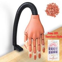 Профессиональная Практика рук + 100 шт Акриловые ногти Советы