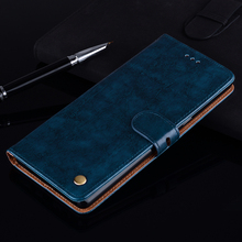 Luxury Leather Wallet Case For Huawei Honor 9A 9C