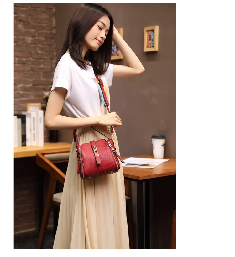 Marca feminina moda sacos de ombro pequeno
