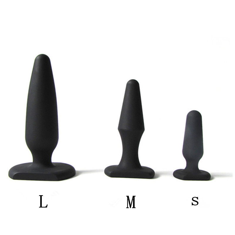 Sex Anal Butt Plug Anal Tail Toys Ass Prostata Massage Beads Buttplug Dildo Sextoy Sexshop Plugue Tool Silicone Realistic