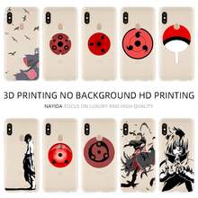 Fashion Soft TPU Case Cover For Coque Xiaomi Redmi 4X 4A 6A 7a Y3 K20 5 Plus Note 8 7 6 5 Pro Naruto Uchiha Clan(China)