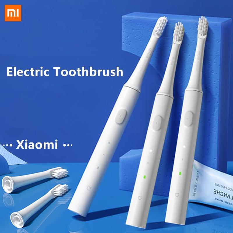 Original Xiaomi Mijia T100 Mi Smart Electric Toothbrush 46g 2 Speed Xiaomi Sonic Toothbrush Whitening Oral Care Zone Reminder