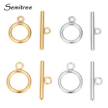 5 Sets Stainless Steel OT Clasp Toggle Clasps for DIY Jewelry Making Necklaces Connectors Bracelets Hooks Crafts Accessories