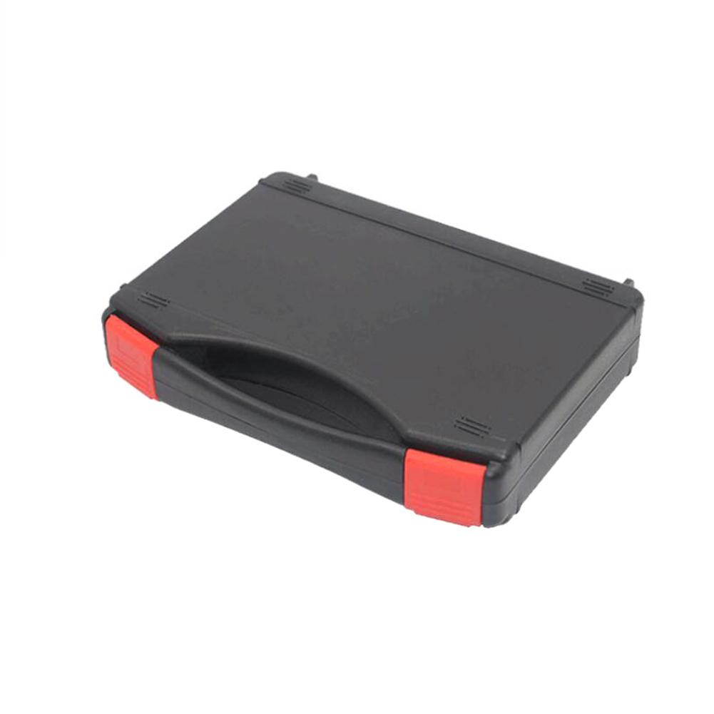 Portable Toolbox With Carrying Waterproof Plastic Box Screw Handle Hardware Storage Case Repair Tool Container Repair Tool Box