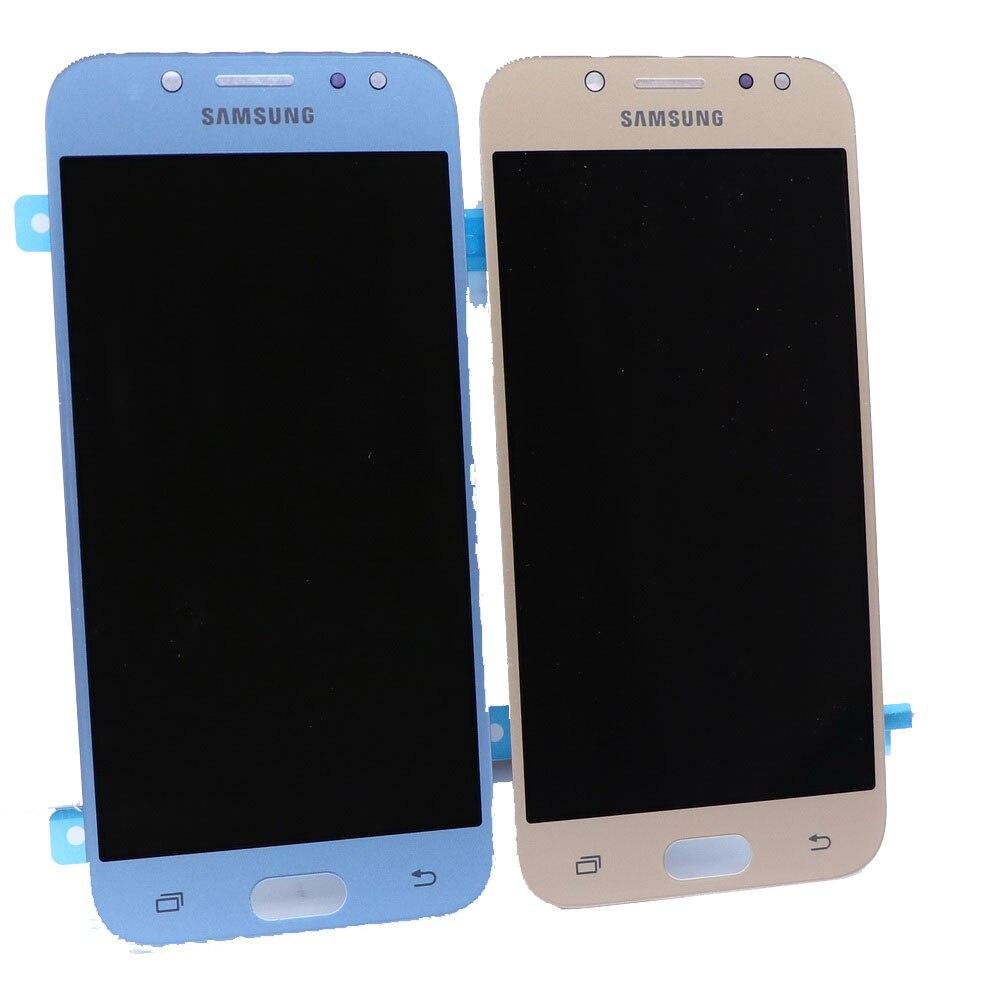 Convient pour Samsung Galaxy AMOLED LCD J5 2017 J530 SM-J530F J530M LCD composant de numériseur d'écran tactile avec réglage de la luminosité