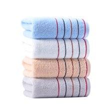 Плотное банное полотенце для волос, полосатое полотенце для мытья лица, мягкое быстросохнущее полотенце для взрослых Toallas Toalha De Banho, товары для дома JJ60MJ