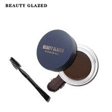 Beauty Glazed Professional Eyebrow Gel 5 Colors High Brow Tint Makeup Eyebrow Brown Eyebrow Gel With Brow Brush Tool DHL