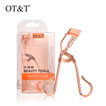 OT&T Eyelash Curler Professional Eye Lashes Curling Clip Women Lashes Eyelash Cosmetic Rose Golden Curler For Eyelash Extensions