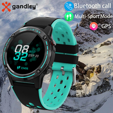 Reloj inteligente deportivo para hombre y mujer, pulsera con GPS, brújula de M6, Monitor de ritmo cardíaco, resistente al agua, Bluetooth, llamada, 2021