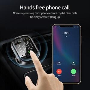 Image 5 - Floveme Pd 3.0 Bluetooth Draadloze Snelle Auto oplader Voor Telefoon 18W 3.0 Een Auto Telefoon Oplader Digitale Fm zender MP3 Muziekspeler