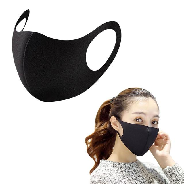 1pcs/5pcs Reusable Breathable Three-dimensional Mask Face Cover Adult Unisex Mouth Mask 1