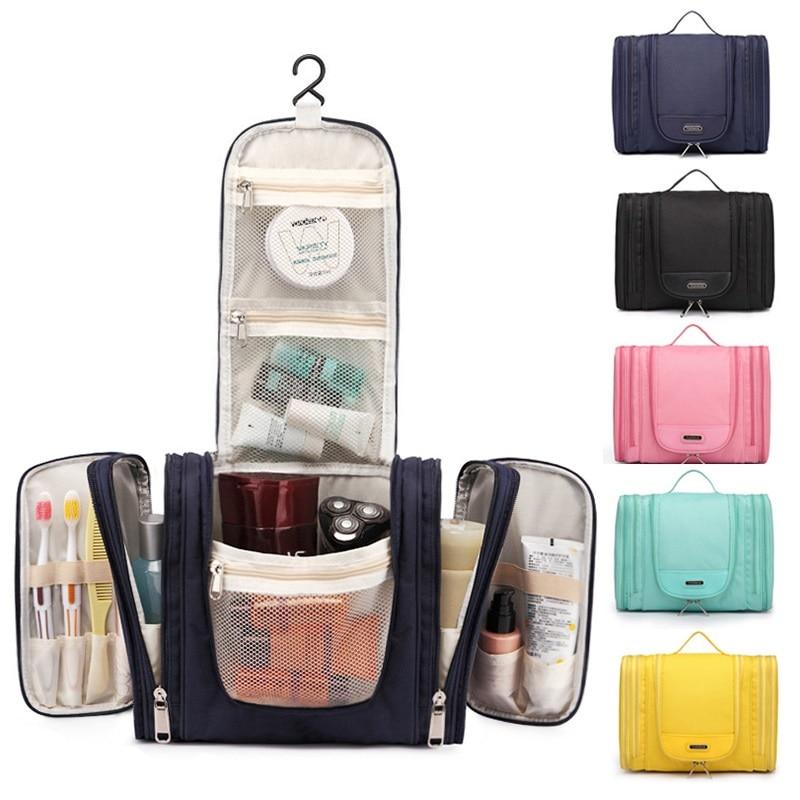 New Waterproof Men Hanging Makeup Bag Multifunctional Travel Organizer Cosmetic For Women Necessaries Toilet Wash Toiletry Bag