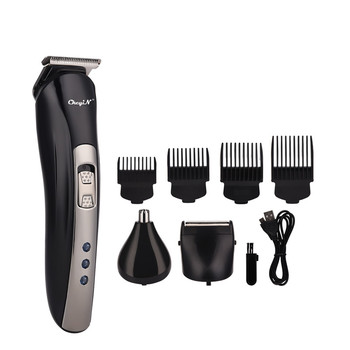 3 In 1 Hair Clipper Electric Shaver Nose Trimmer Rechargeable Haircut Grooming Kit USB Rechargeable Barber Hair Cutter Machine46