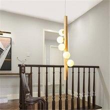 Скандинавский волшебный светильник в форме бобов лестничная