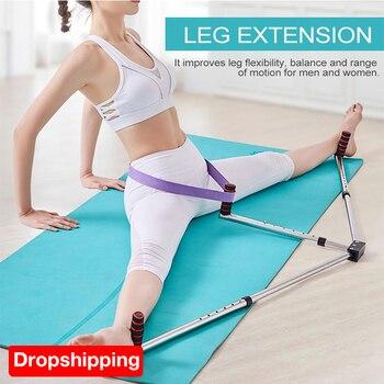 בלט רגל הארכת מכונה אימוני גמישות פיצול רגליים ברצועות אלונקה מקצועי פיצול רגלי אימון ציוד