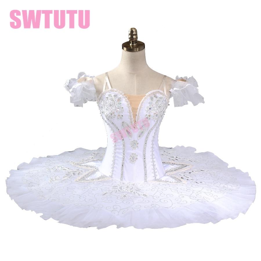 bílá labuť jezero profesionální tutu dívky balerína tutu ženy talíř tutu palačinka balet tutu výkon BT9127