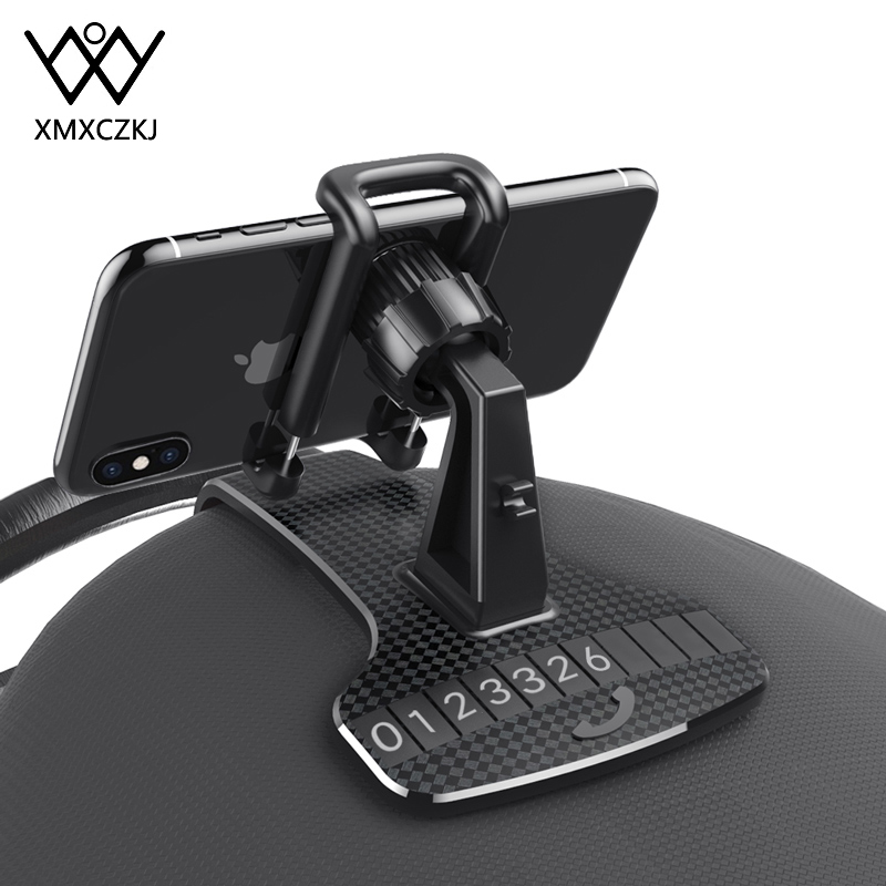 XMXCZKJ Car Clips Holder For Phone In Car Dashboard Air Vent Mount Mobile Phone Cell Stands Support For IPhone 11 Max Car Holder