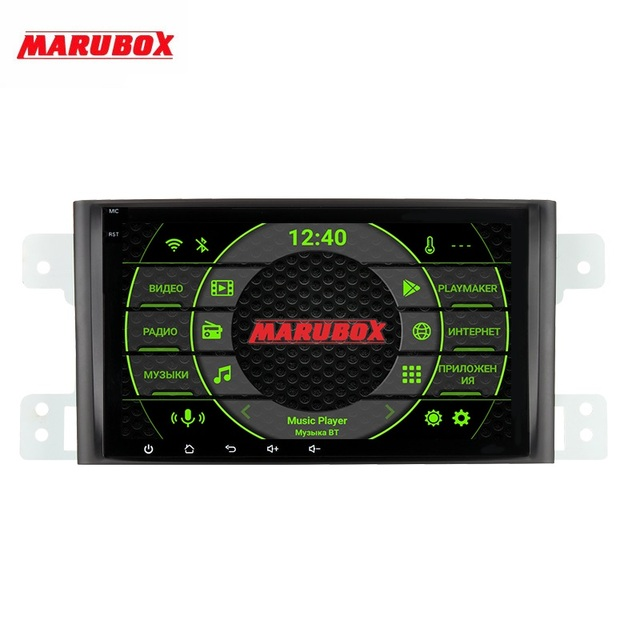 MARUBOX per Suzuki Grand Vitara, escudo 2005 2016 Car Multimedia Player Android 9 GPS Car Audio Radio Auto 8 Core DSP
