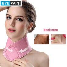 1Pcs BYEPAIN Women Gel SPA Neck Wrap Mask Moisturizing Belt Beauty Skin Neck Care Natural Plant Firming Whitening Moisturizing janssen firming neck
