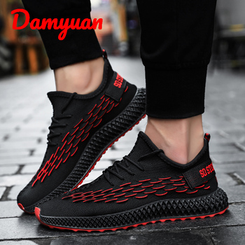 Damyuan  2019  New Autumn Warm and Dry Sports Running Shoes Comfortable Jogging Leisure Shoes