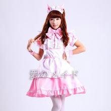 Женское платье для косплея горничной японского аниме Лолита