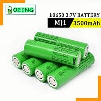 2021 100% batteria ricaricabile al litio originale MJ1 3.7V 3500 mah 18650 per batterie torcia per batteria LG MJ1 3500 mah