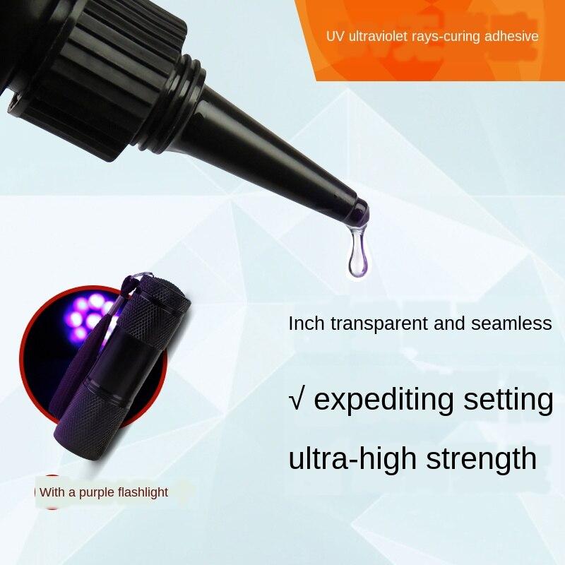 Затемненный клей UV Glue15ml Стекло Хрустальное ремесло сильный клей прозрачный Сделай Сам Восстановленный клей УФ теневой клей|Жидкий клей|   | АлиЭкспресс