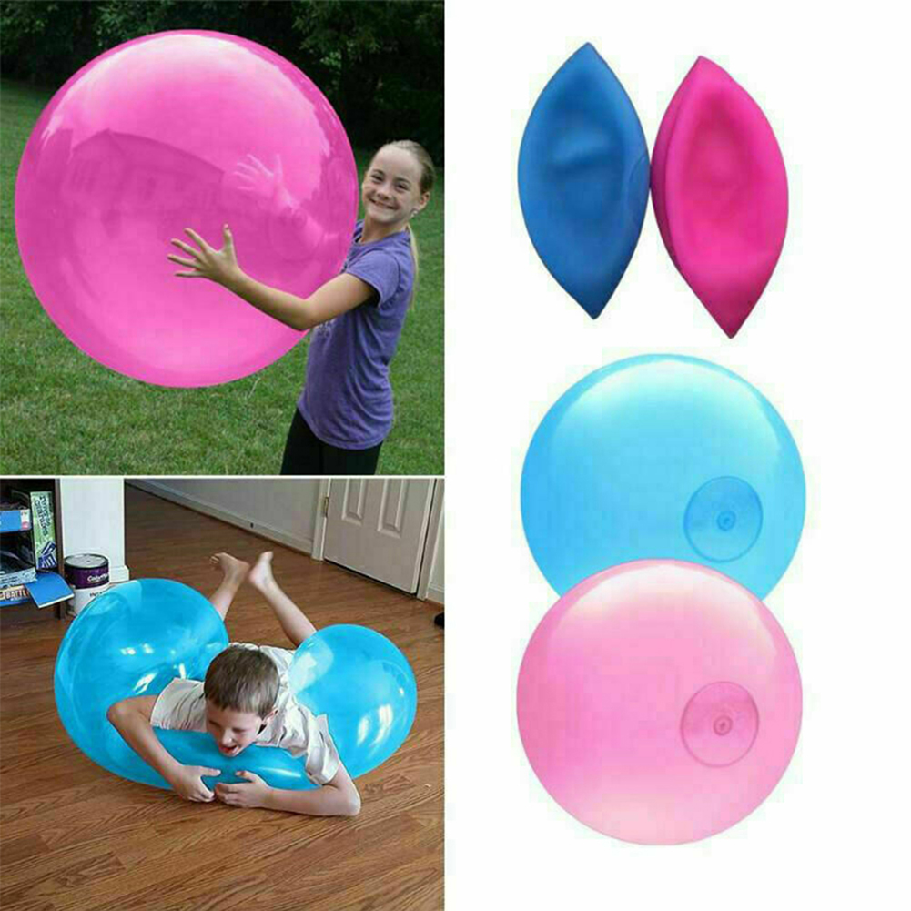 Oversize Inflatable Air Swim Ball Toy TPR Transparent Beach Bubble Ball Can Filled With Water Balloon Swimming Pool Accessories