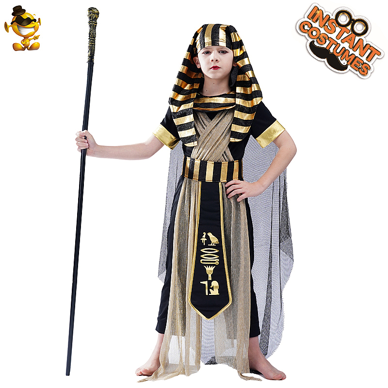 PGOND Boys Kids Egyptian Pharaoh Costume