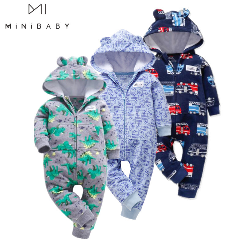 New 2020 Spring Cute Camo Baby Jumpsuit Coat For Baby Boy Clothes , Fleece Outfit Infant  Clothing For Baby Girl Costume