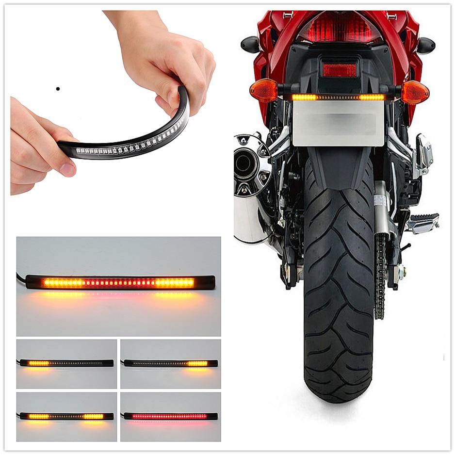Motorcycle LED Tail lamp Plate Light Brake Stop Turn Signal Strip for BMW HP2 SPORT K1200R K1200R SPORT K1200S K1300 S/R/GT